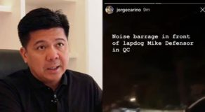 Mike Defensor: ABS-CBN Reporter's Noise Barrage Post Slammed