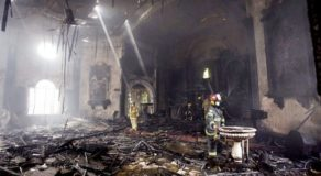 Antique Santo Niño Reported Missing After Fire Hits Pandacan Parish