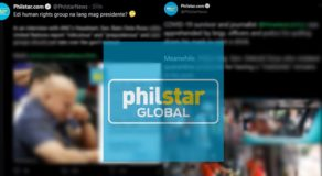 Philstar Throwing Shade w/ 'Savage' Captions Entertains Netizens