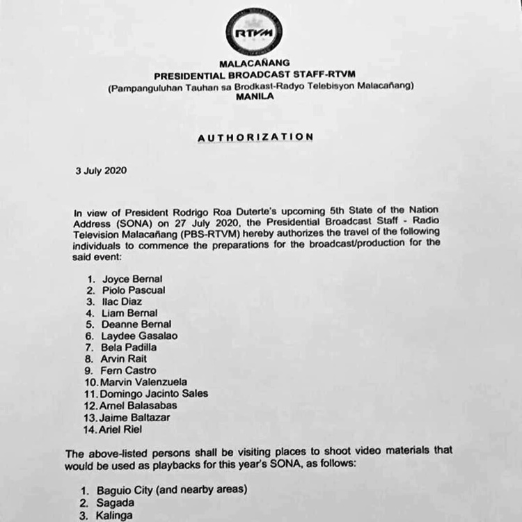 piolo pascual lied malacanang letter