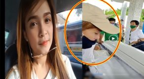 JANG LUCERO: Creepy Photo of Woman w/ Resemblance to Lady Driver During Burial Goes Viral