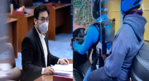 "Sen. Revilla on Installation of Makeshift Motorcycle Shield: ""Fundamentally Unsafe"""