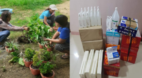School in Oriental Mindoro Barter Plants in Exchange of School Supplies