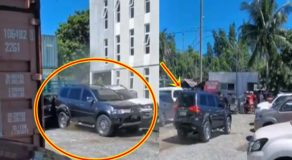 Crazy Driver Drives Back & Forth Hitting Other Vehicles at Parking Lot