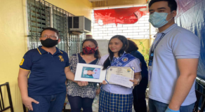 Mayor Vico Sotto Visits SHS Graduate with Highest Average Grade in Pasig