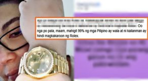 Sharon Cuneta Rolex Watch Selfie: Blogger Slams Megastar