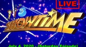 ABS-CBN It's Showtime – July 4, 2020 Episode (Live Streaming)