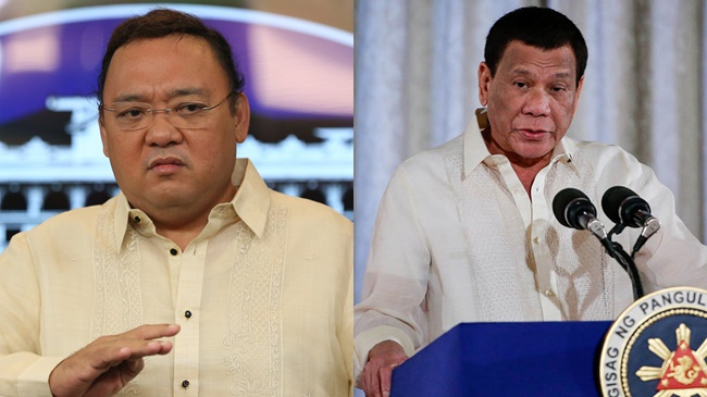 Harry Roque, President Rodrigo Roa Duterte