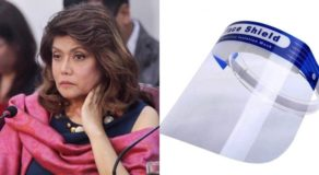Imee Marcos Slams Mandatory Face Shield, Doesn't Agree to New Policy