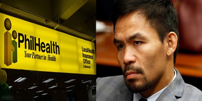 Manny Pacquiao Philhealth officials 1