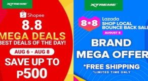 PROMO: XTREME Appliances Joins Lazada, Shopee's 8.8 Sale, 40% Off  Now