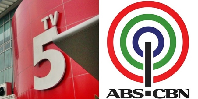 TV5, ABS-CBN