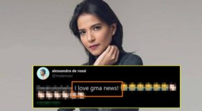 Alessandra de Rossi Says 'I Love GMA News', Here's Why