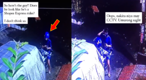Woman Exposed Fake Shopee Rider Who Attempts to Deliver Parcel at Night