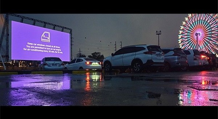 first drive-in cinema