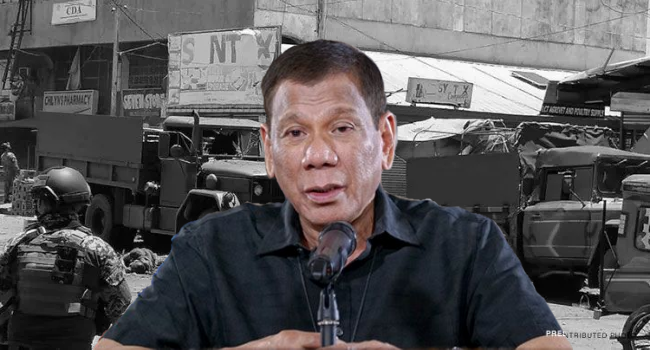 Duterte On Martial Law Recommendation In Jolo, Sulu