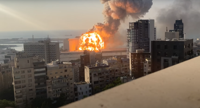 Unseen Footage Of Beirut Blast Shows Destruction Of Shockwaves