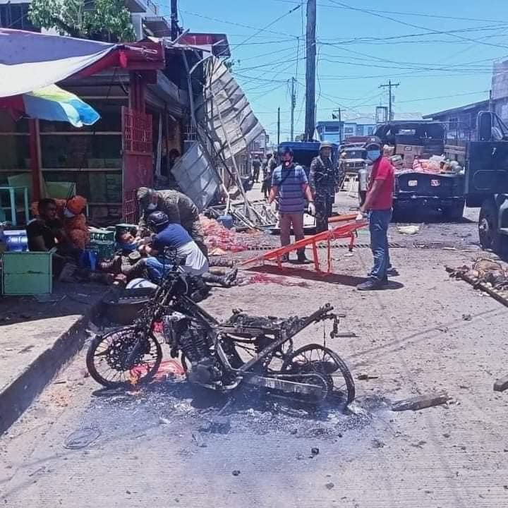 Motorcycle in Jolo