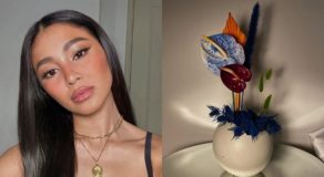 Nadine Lustre Is Selling Flower Arrangements Online