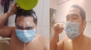 Male Netizen Makes Fun of Año's Advice to Wear Face Masks at Home