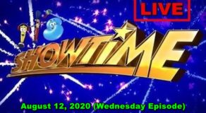 ABS-CBN It's Showtime – August 12, 2020 Episode (Live Streaming)