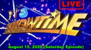 ABS-CBN It's Showtime – August 15, 2020 Episode (Live Streaming)