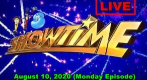 ABS-CBN It's Showtime – August 10, 2020 Episode (Live Streaming)