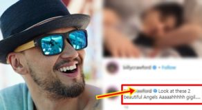 Billy Crawford Posts Beautiful Photo of Coleen & Baby Amari
