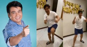 VIDEO: Bong Revilla Dances 'Budots' During His Surprise Birthday 'Salubong'