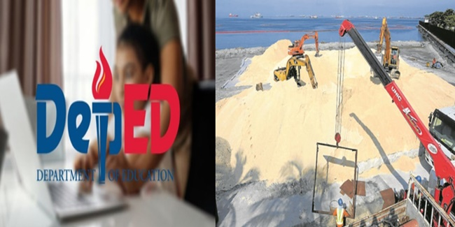 DepEd distance learning Manila Bay White Sand