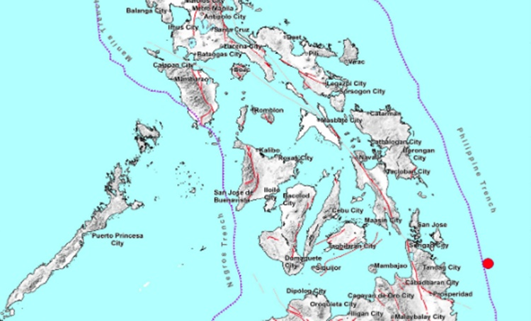 Earthquake Surigao del Sur