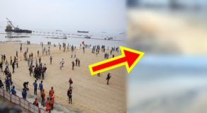 Manila Bay: Netizen Shares Photos Of White Sand Wash Out To Sea