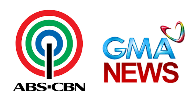 NEWS WEBSITES OF ABS-CBN AND GMA