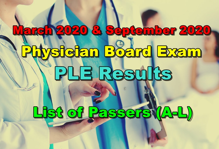 Physician Licensure Exam Results