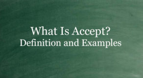 What Is Accept? Definition And Usage Of This Term
