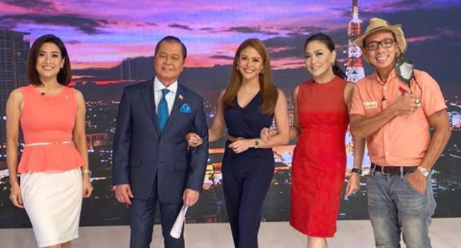 Karen Davila Joins TV-Patrol For The First Time In Close To A Decade