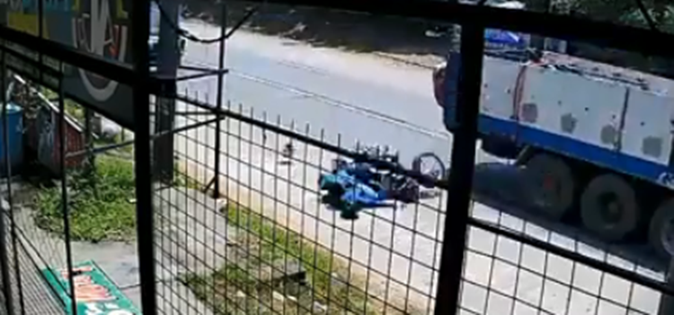 Reckless Motorcycle Rider