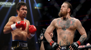 "Conor McGregor ""Serious"" in Fighting Manny Pacquiao in Boxing Match"