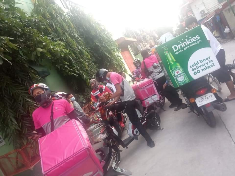 Food Delivery Riders