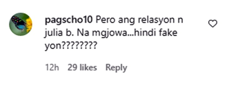 gerald anderson comment