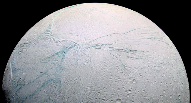 """NASA Finds Signs Of """"Fresh Ice"""" On Saturn's Moon"""