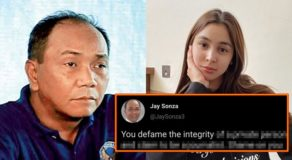 Jay Sonza tweet about 'Defaming' recalled after Julia Barretto filed a case