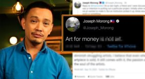 "GMA Reporter Joseph Morong Faces Backlash For ""Art"" Tweet"