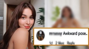 Julia Barretto 'Awkward Pose' In Photo Criticized By Netizens