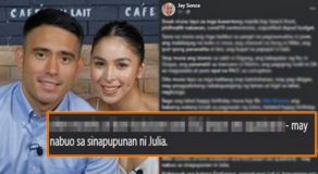 Julia Barretto Is Pregnant w/ Gerald Anderson's Child? Jay Sonza Claims