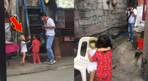 2 Little Kids Goes Viral After Spotted Asking a Picture on Meralco Employee