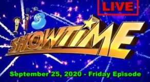 ABS-CBN It's Showtime – September 25, 2020 Episode (Live Streaming)