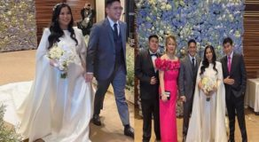 Raffy Tulfo's Daughter Mar Tulfo Marries Atty. Garreth Tungol