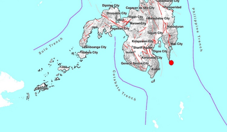 Earthquake Davao Oriental