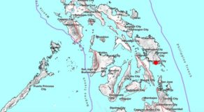 Eastern Samar Hit By Earthquake w/ 3.3 Magnitude Today